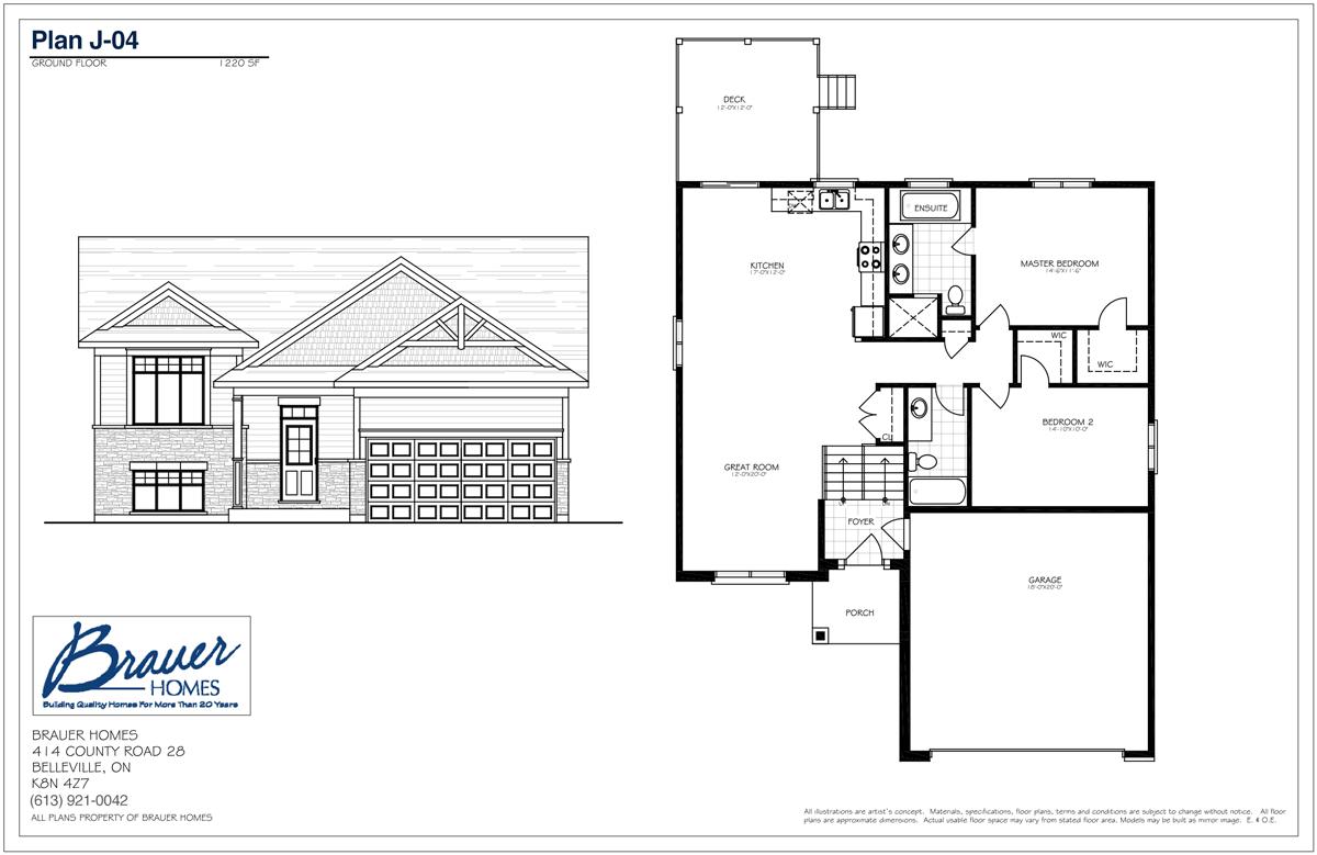 Brauer Build Plan J-04