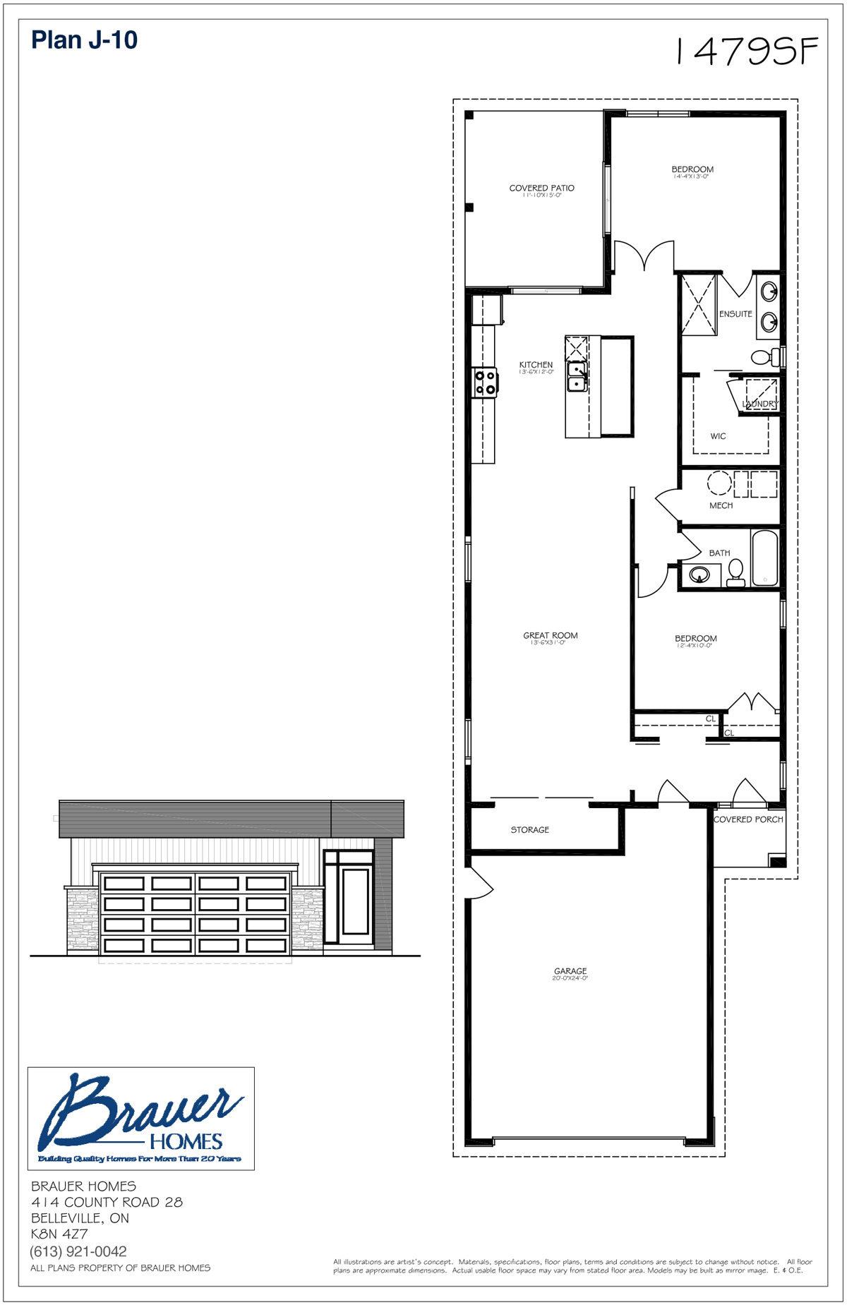 Brauer Build Plan J-10