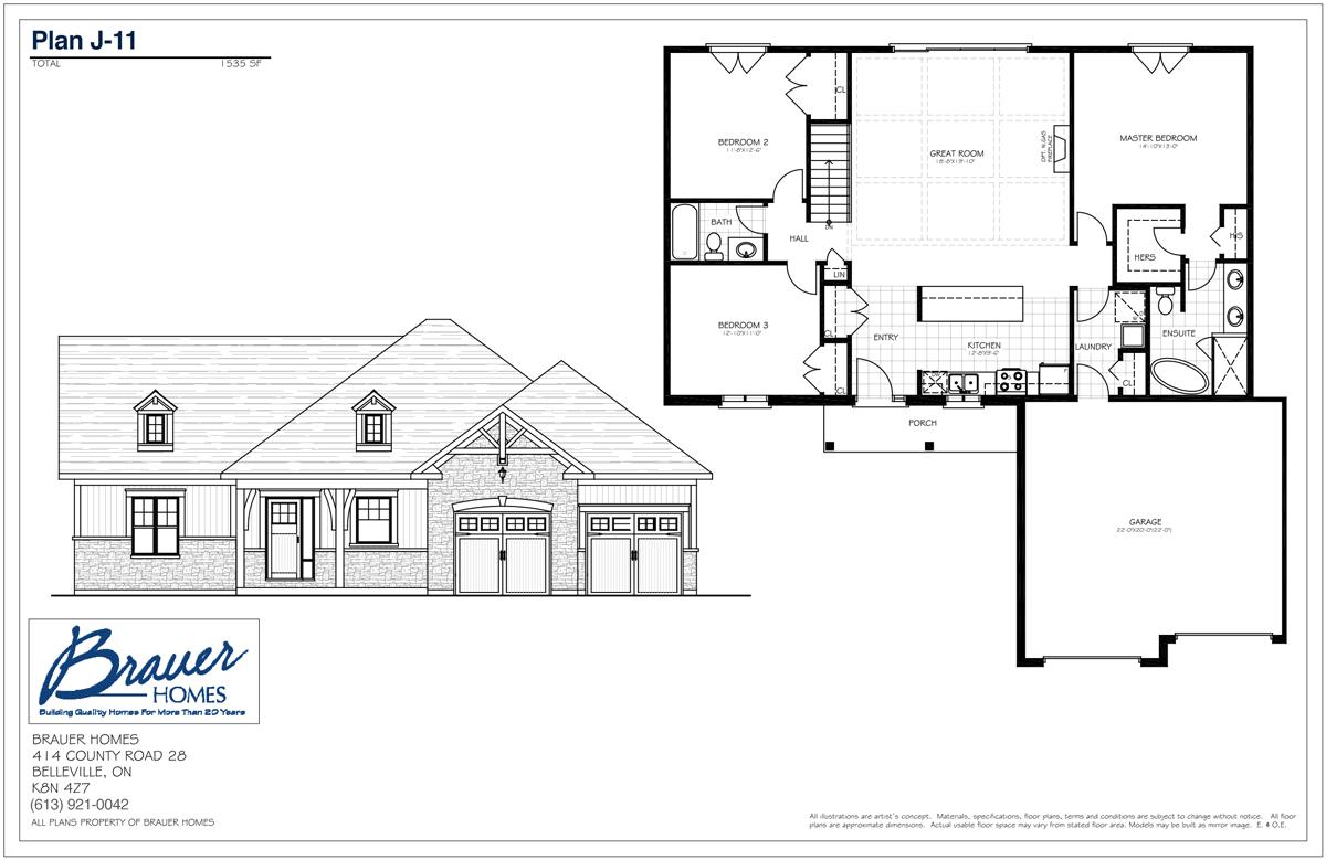 Brauer Build Plan J-11