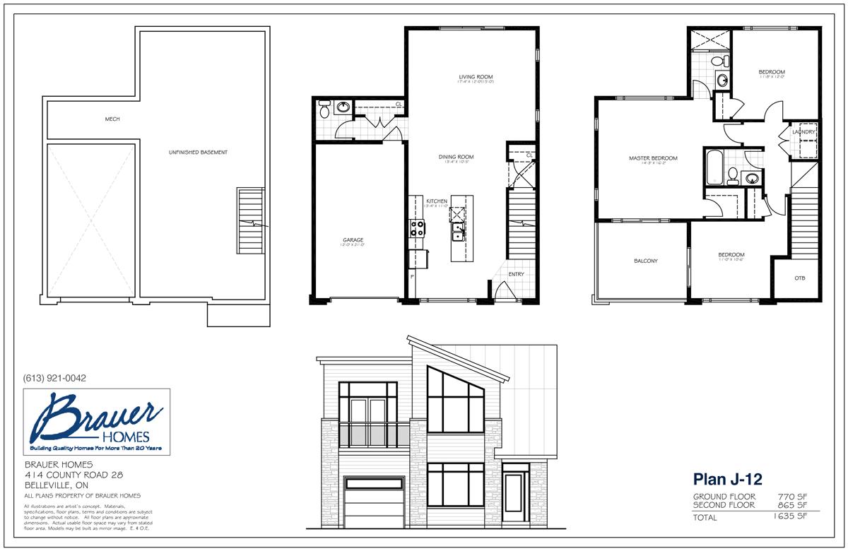 Brauer Build Plan J-12