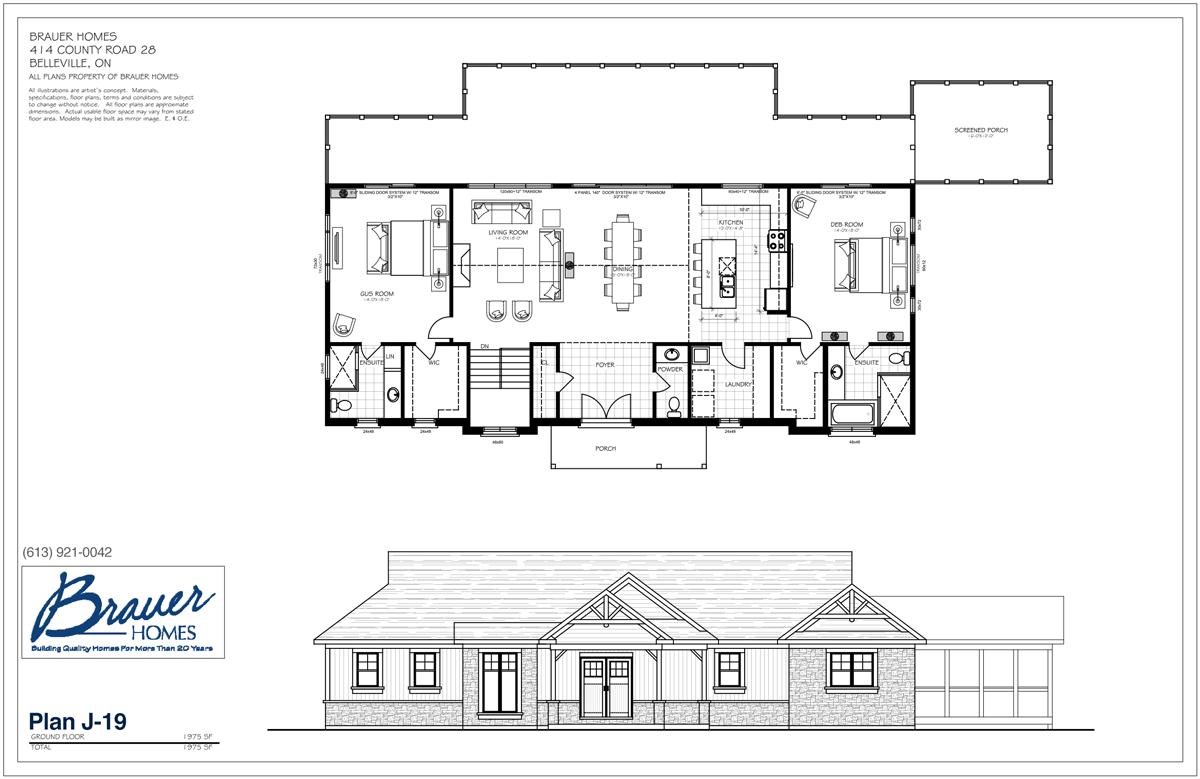 Brauer Build Plan J-19