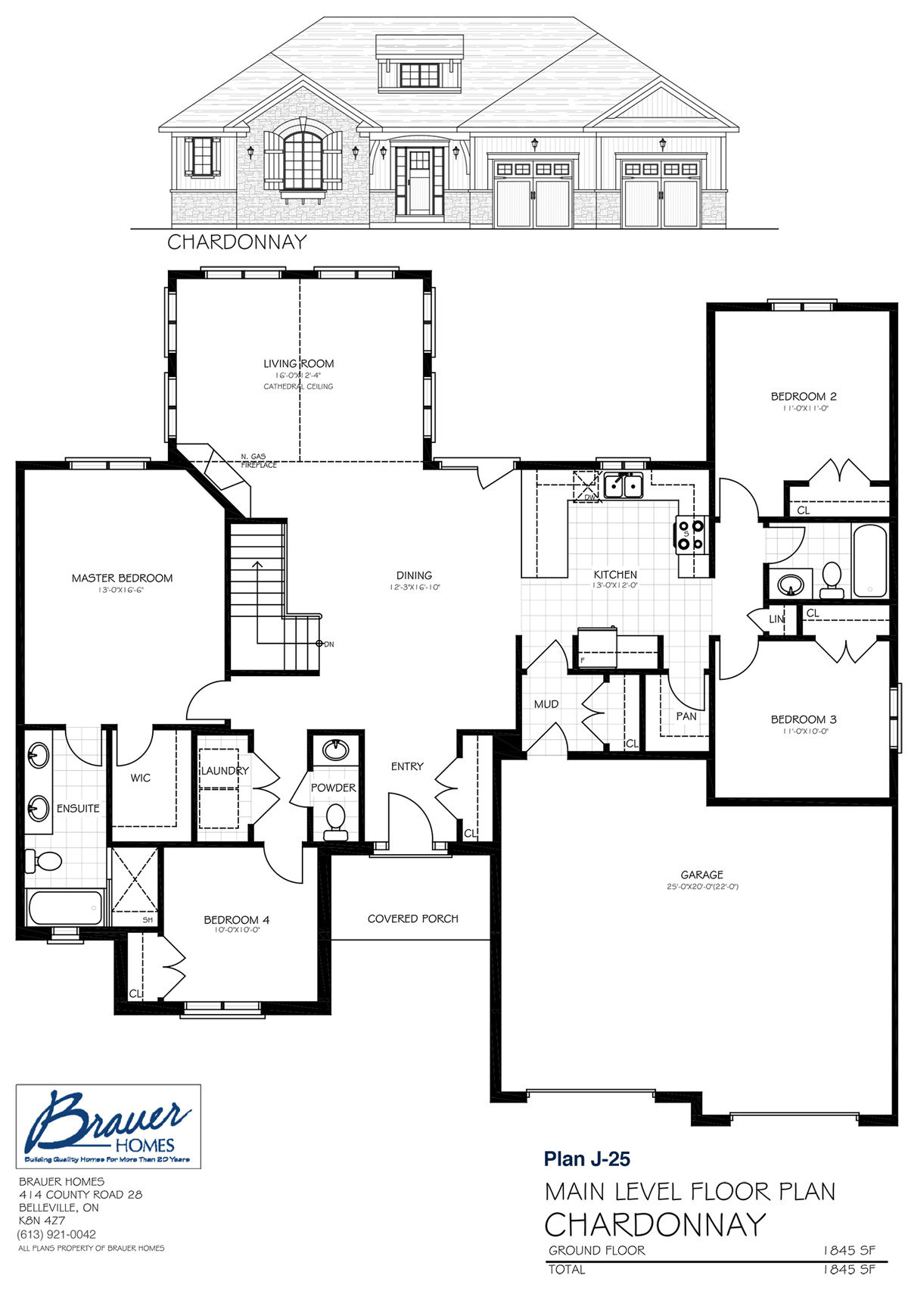 Brauer Build Plan J-25