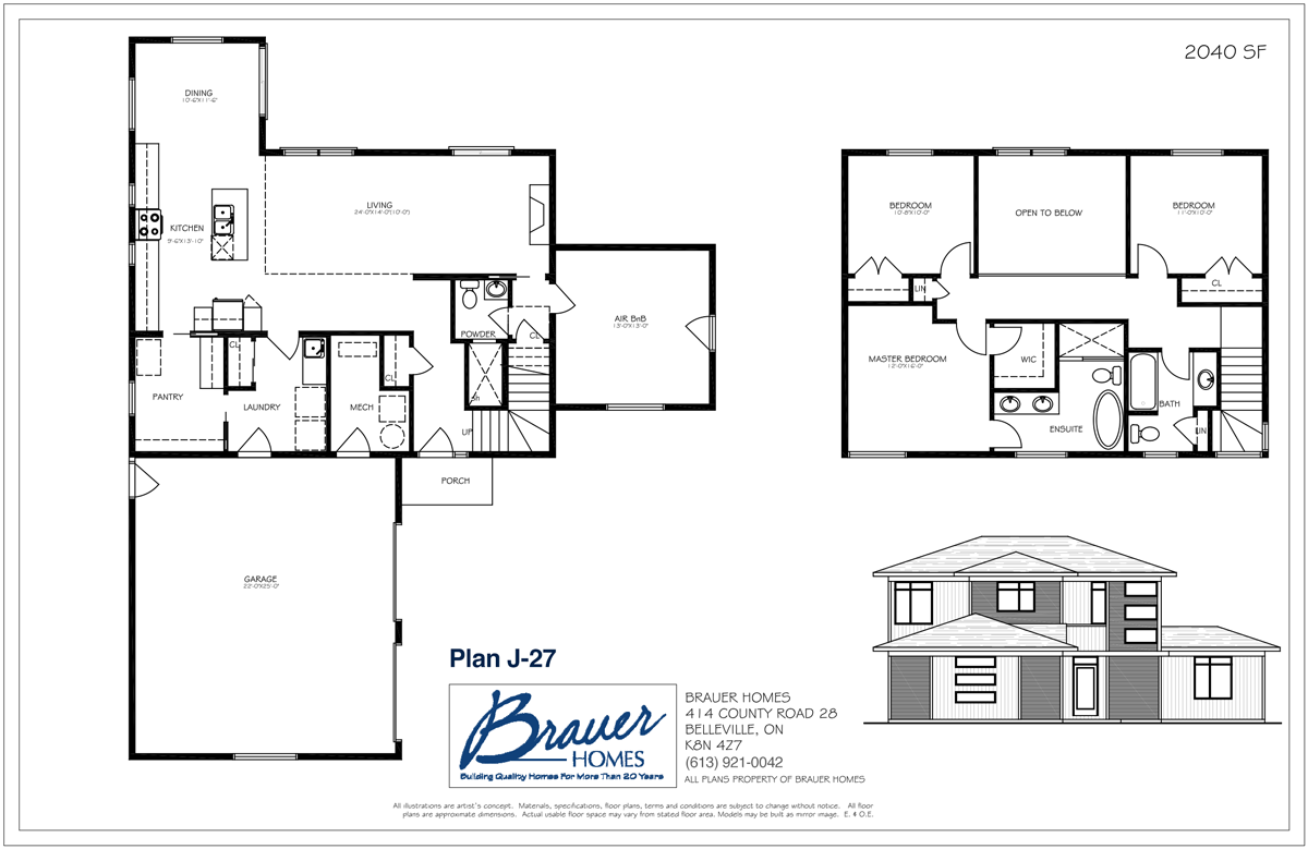 Brauer Build Plan J-27